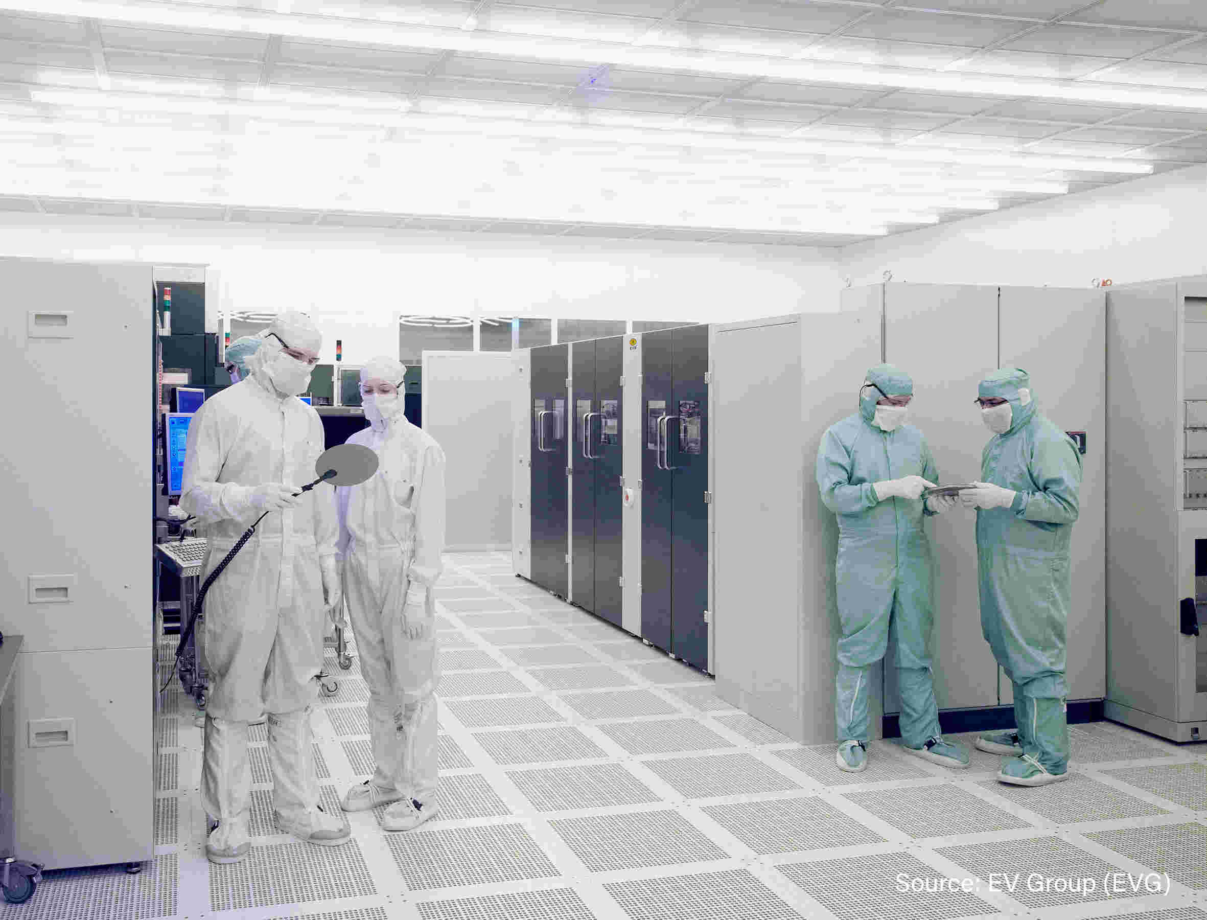 The Heterogeneous Integration Competence Center™ combines EV Group's world-class wafer bonding, thin-wafer handling, and lithography products and expertise, as well as pilot-line production facilities and services at its state-of-the-art cleanroom facilities.