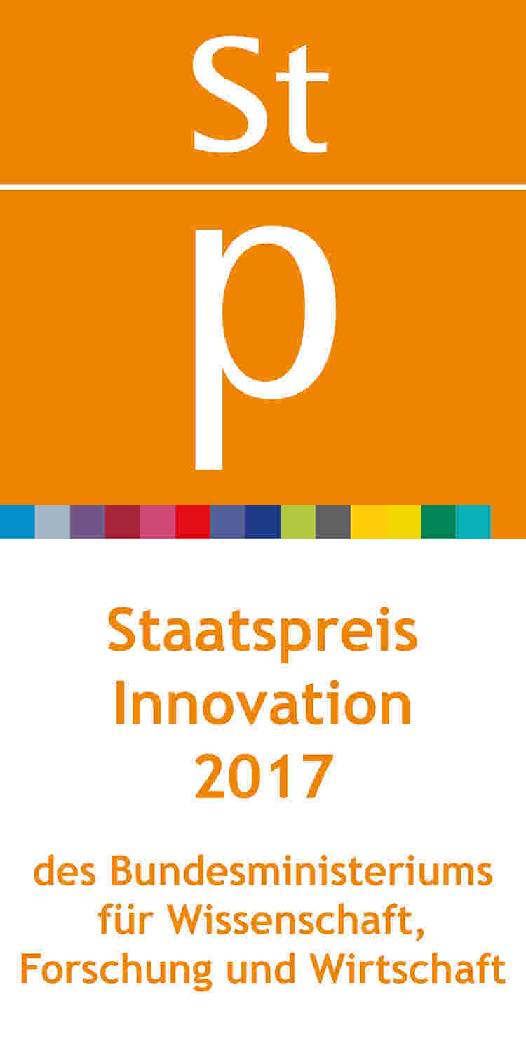 Austrian Innovation Award presented by the Austrian Minstry of Science, Research and Economy