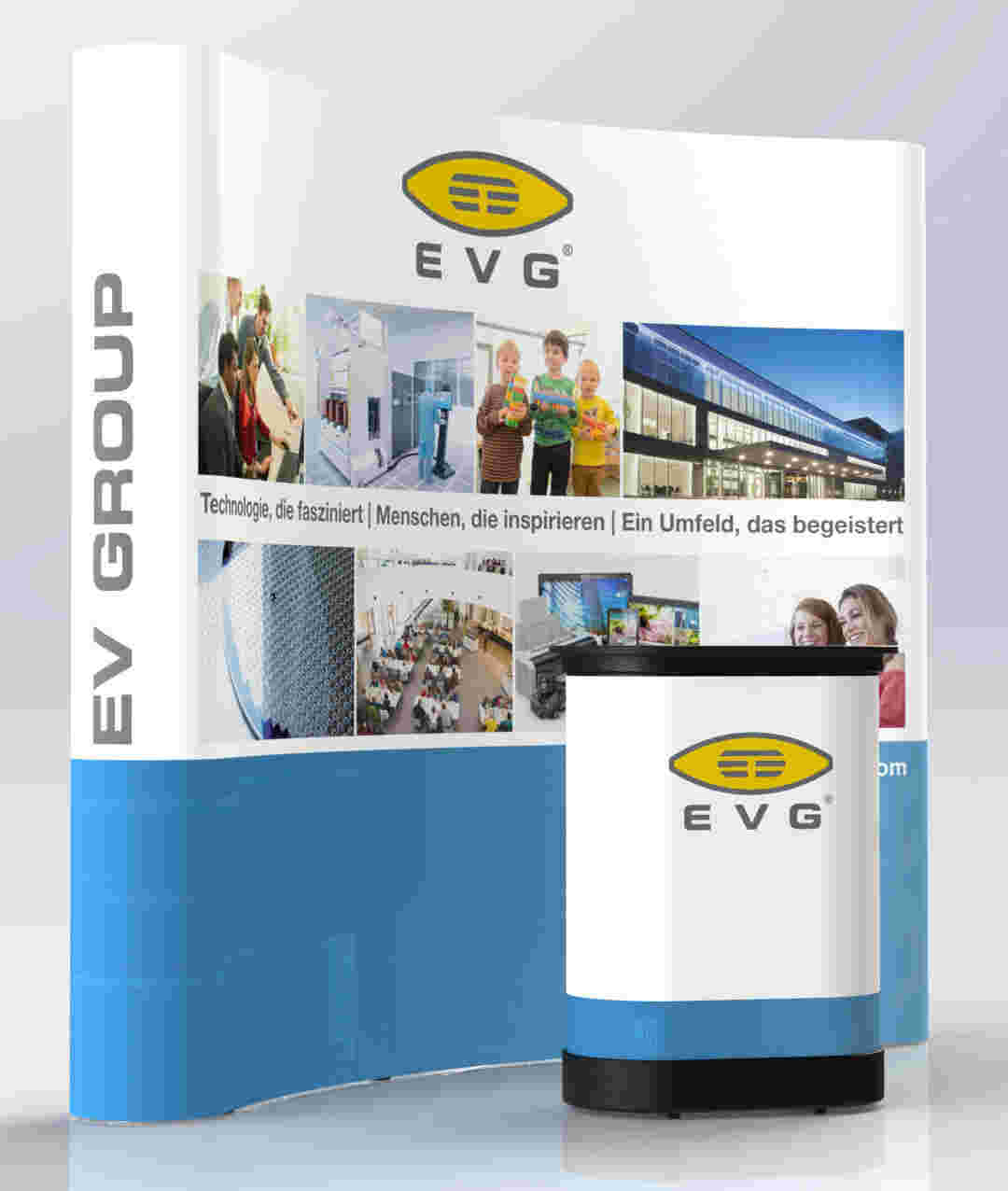 EVG HR booth