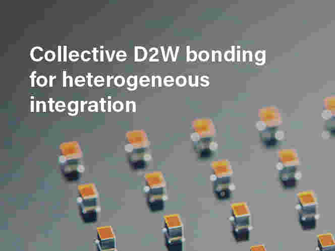 Collective D2W bonding for heterogeneous integration