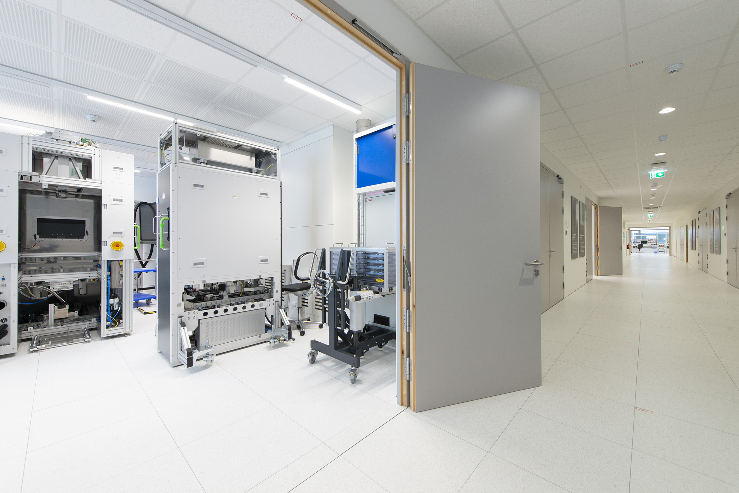 Training area for EVG's HVM Nanoimprint Lithography systems